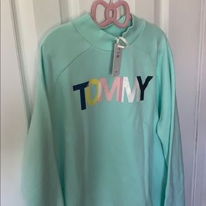 Tommy Hilfiger girls sweatshirt aqua